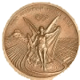 Olypiamedaille in Bronze