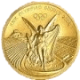 Olypiamedaille in Gold